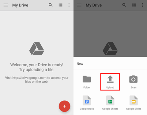 Backup Files To Google Drive On Android