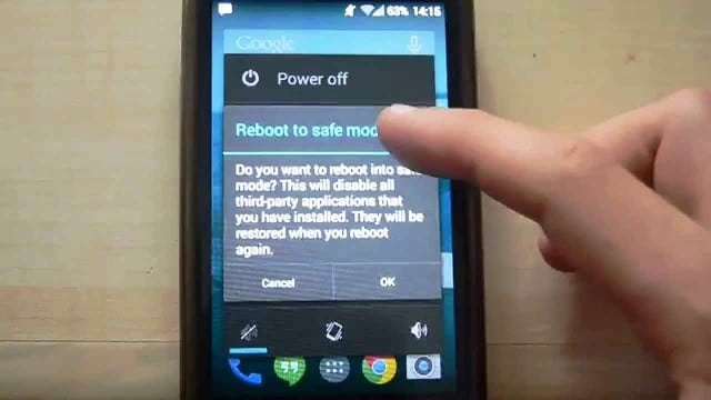 Boot Samsung Phone In Safe Mode