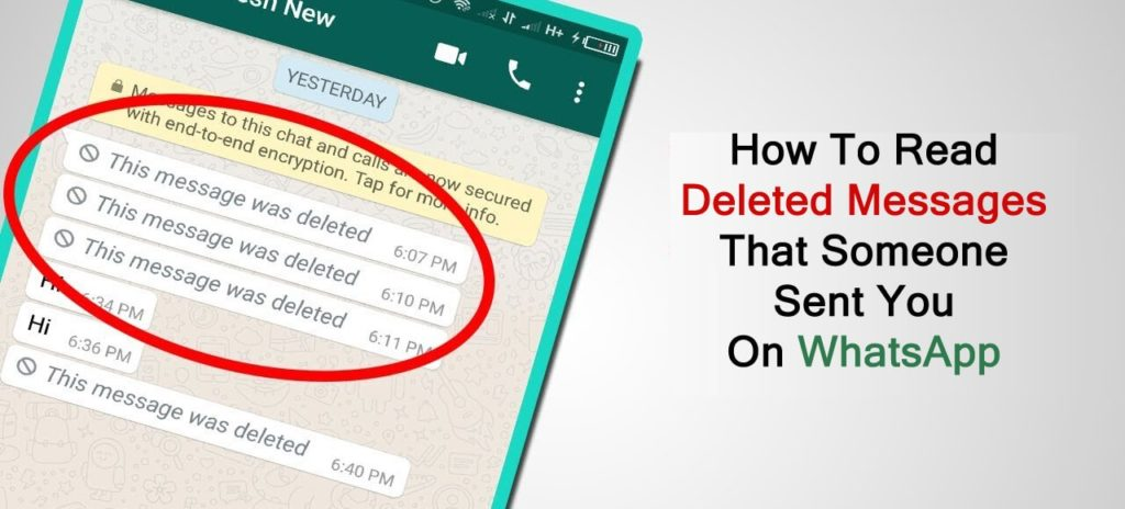 How To Read Deleted Messages That Someone Sent You On WhatsApp