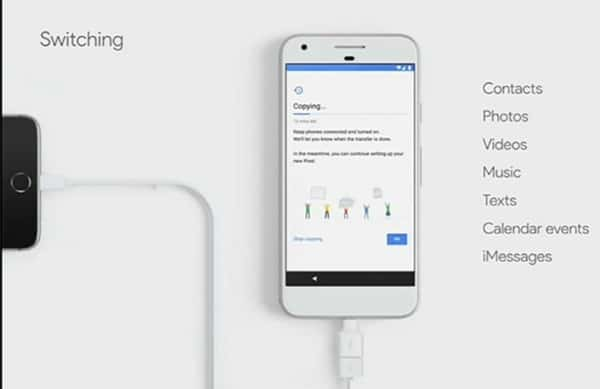 Switch Data From An Android or iPhone To Google Pixel