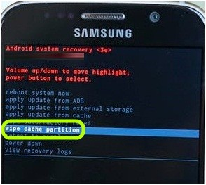 Wipe Cache Partition On Samsung Galaxy