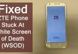How To Fix ZTE Phone Stuck On White Screen
