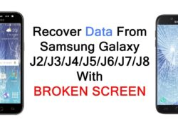 How To Recover Data From Screen Broken Galaxy J2, J3, J4, J5, J6, J7, J8