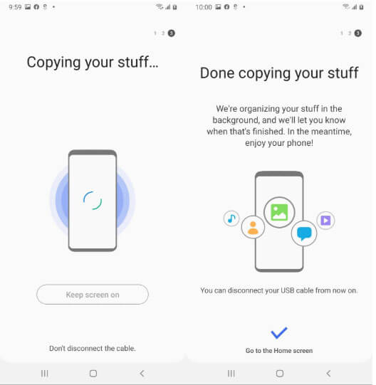 Smart Switch - Restoring Samsung Galaxy Phone Data