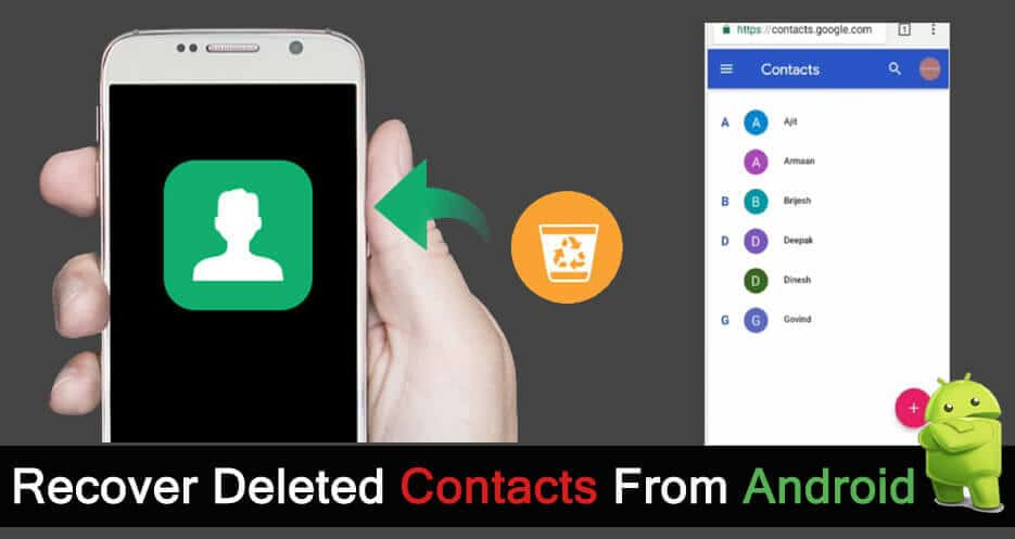 Android Contacts Recovery