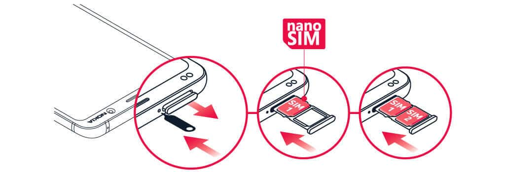 Check SIM Card tray To Fix Inavlid SIM Card Error On Android