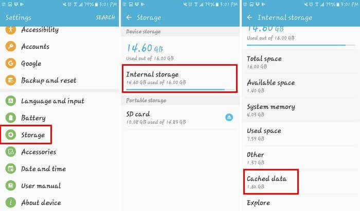Clear Cache of Your Android Device