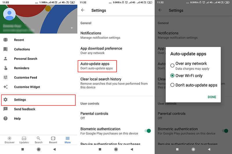 Update Google Play Service
