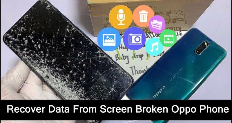 Oppo Phone Screen Broken Data Recovery